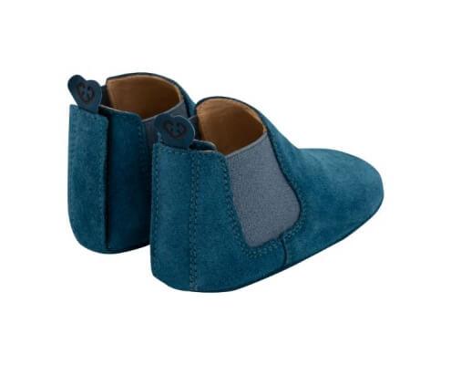 Krabbelschuh Carponi Emma Blue Ocean Chelsea Boot Back