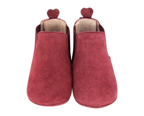 Krabbelschuh Carponi Emma Rio Red Chelsea Boot Front