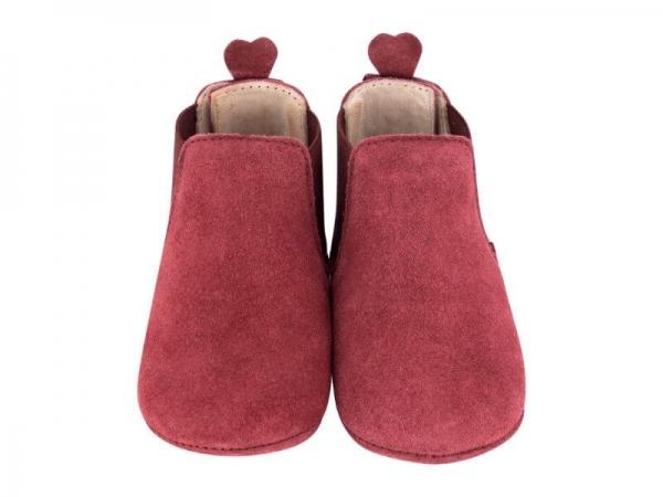 Krabbelschuh Carponi Emma Rio Red Chelsea Boot Front