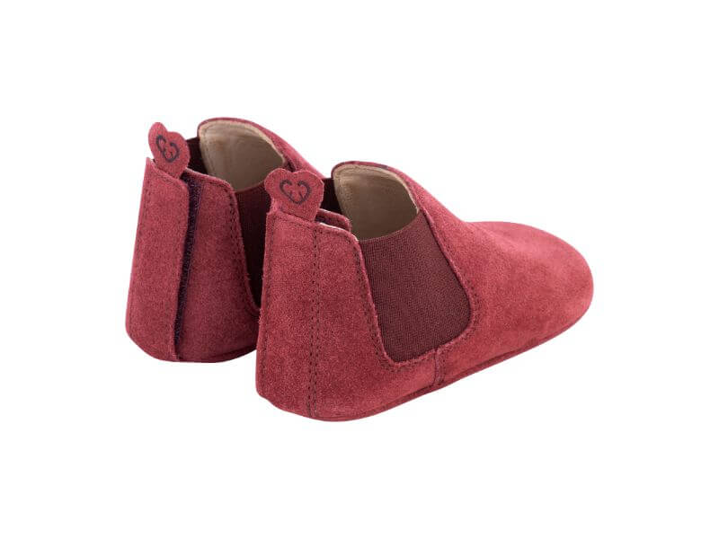 Krabbelschuh Carponi Emma Rio Red Chelsea Boot Back