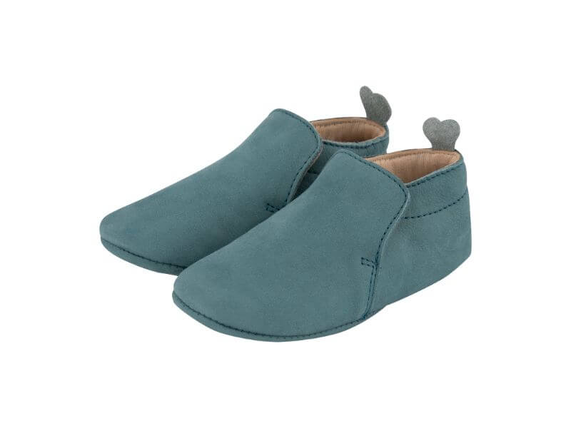 Krabbelschuh Carponi Jamie Emerald Pool Slipper Front