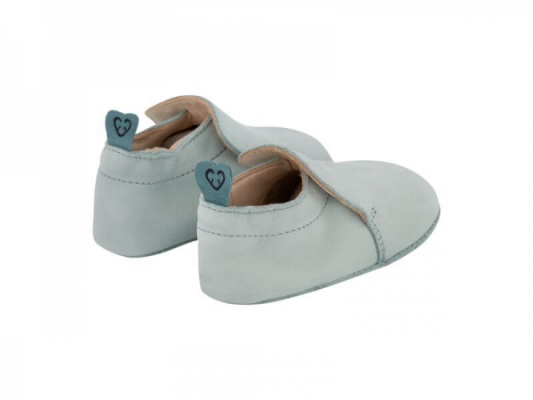 Krabbelschuh Carponi Jamie Mint Slipper Back