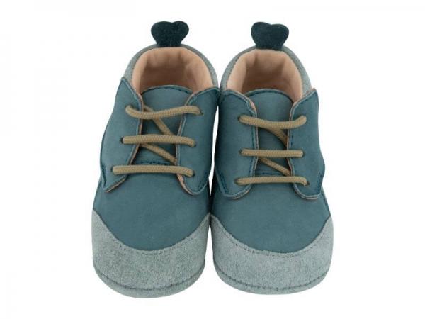 Krabbelschuh Carponi Lu Emerald Pool Boots Front 1